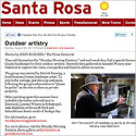 Outdoor Artistry – Santa Rosa Press Democrat